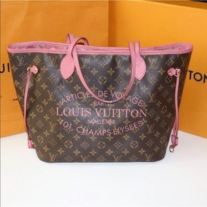 💎RARE💎 NEVERFULL MM Pink tote